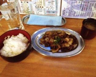 上野 カドクラ ランチ バラ焼き定食